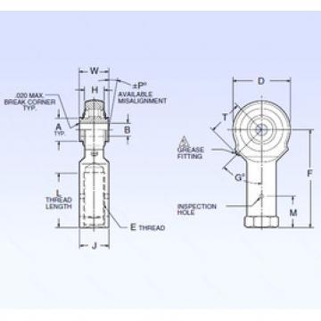 Rodamientos ARR5FFN-B NMB