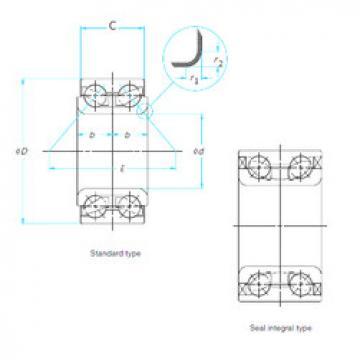 Rodamiento GB12010 SNR
