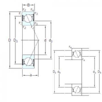 Rodamiento E 280 /S/NS /S 7CE1 SNFA