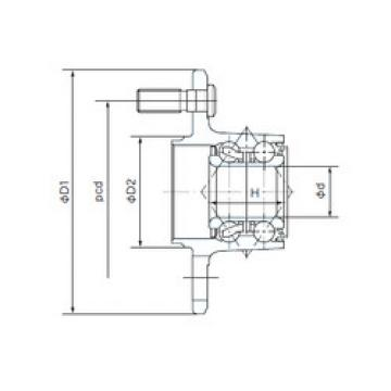 Rodamiento H28BVV10-6 NACHI