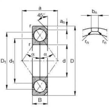 Rodamiento QJ234-N2-MPA FAG